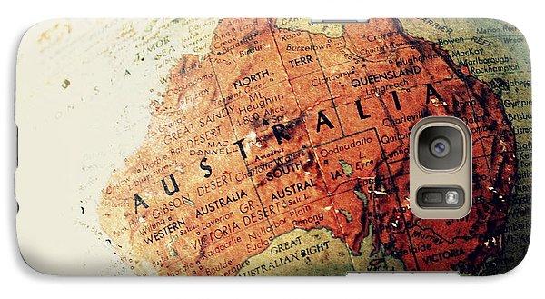 Galaxy Case featuring the photograph Vintage Australia by Faith Williams