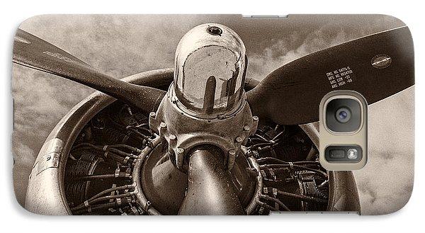 Airplanes Galaxy S7 Case - Vintage B-17 by Adam Romanowicz