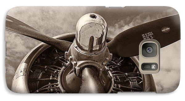 Transportation Galaxy S7 Case - Vintage B-17 by Adam Romanowicz