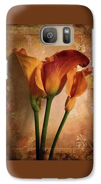 Vintage Calla Lily Galaxy S7 Case