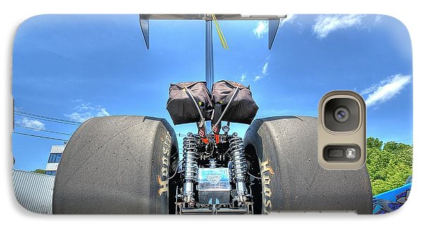 Galaxy Case featuring the photograph Vintage Drag Racer by Gianfranco Weiss
