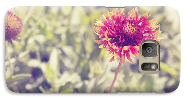 Galaxy Case featuring the photograph Vintage Flowers by Mohamed Elkhamisy