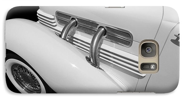 Vintage Car Galaxy Case featuring the photograph Vintage Ghost  by Aaron Berg