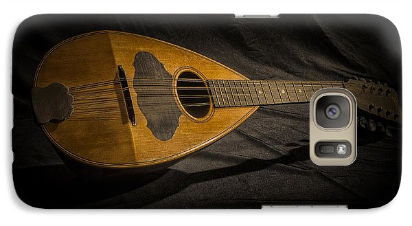 Galaxy Case featuring the photograph Vintage Mandolin by JRP Photography