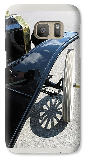 Galaxy Case featuring the photograph Vintage Model T by Ann Horn