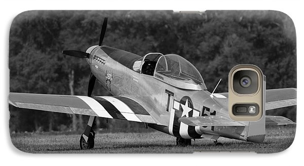 Galaxy Case featuring the photograph Vintage Mustang by Timothy McIntyre