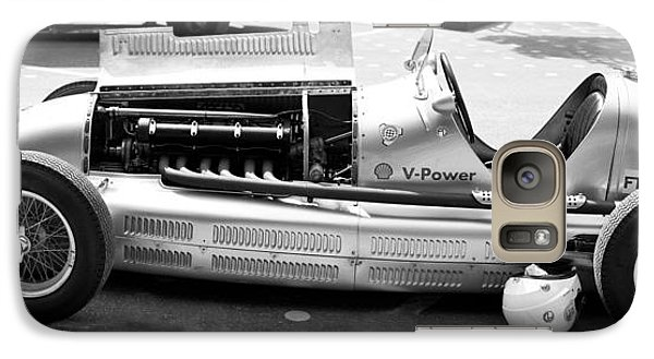 Galaxy Case featuring the photograph Vintage Racing Car by Gianfranco Weiss