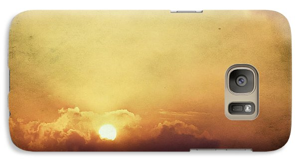 Galaxy Case featuring the photograph Vintage Sunset by Mohamed Elkhamisy