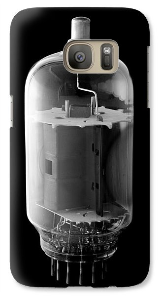 Galaxy Case featuring the photograph Vintage Vacuum Tube by Jim Hughes