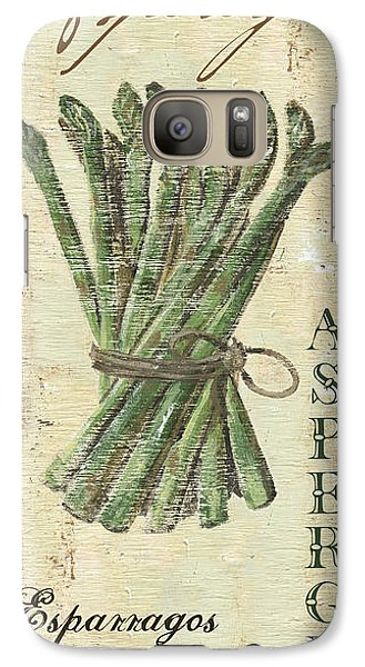 Vintage Vegetables 1 Galaxy S7 Case by Debbie DeWitt