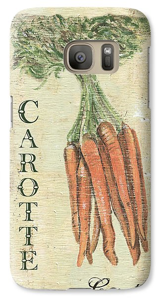 Vintage Vegetables 4 Galaxy S7 Case by Debbie DeWitt