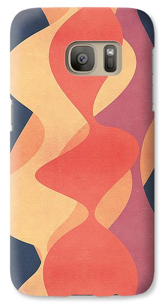 Vintage Galaxy S7 Case by VessDSign