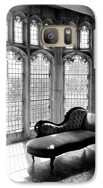 Galaxy Case featuring the photograph Vintage Window by Serene Maisey