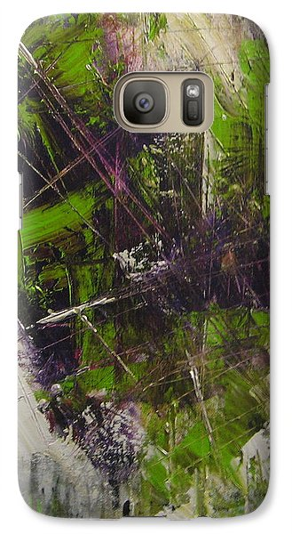 Galaxy Case featuring the painting Violation by Lucy Matta