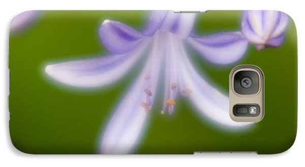 Galaxy Case featuring the photograph Violet-1 by Tad Kanazaki