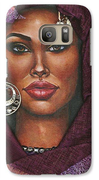 Galaxy Case featuring the painting Violet by Alga Washington