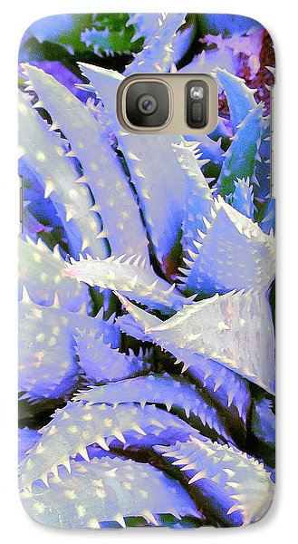 Galaxy Case featuring the digital art Violet by Suzanne Silvir