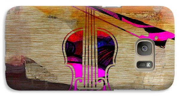 Violin And Bow Galaxy S7 Case