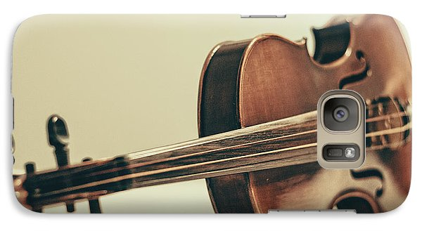 Violin Galaxy S7 Case - Violin by Emily Kay
