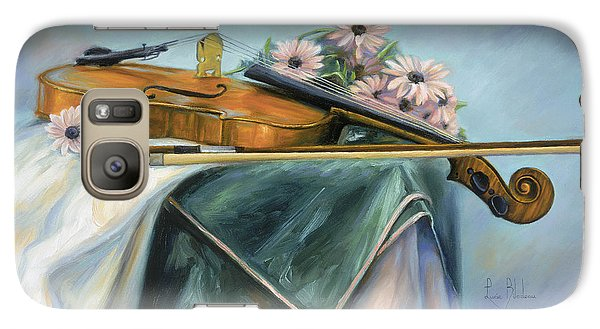 Violin Galaxy S7 Case - Violin by Lucie Bilodeau