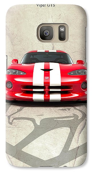 Viper Gts Galaxy S7 Case by Mark Rogan