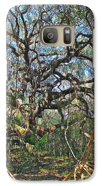 Galaxy Case featuring the photograph Virgin Forest by Cyril Maza