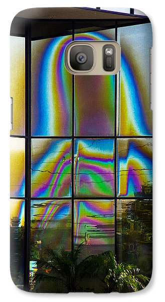 Galaxy Case featuring the photograph Virgin Mary by Randy Sylvia