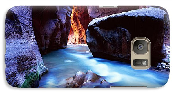 Virgin River At Zion National Park Galaxy Case by Panoramic Images