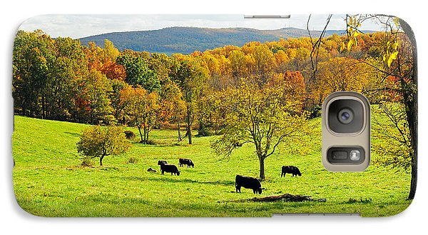 Galaxy Case featuring the photograph Virginia Autumn by Olivia Hardwicke