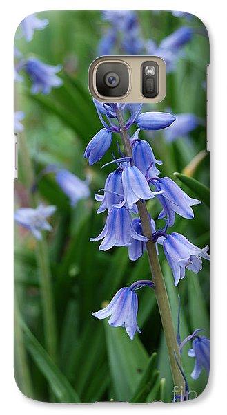 Galaxy Case featuring the photograph Virginia Blue Bells  by Eva Kaufman