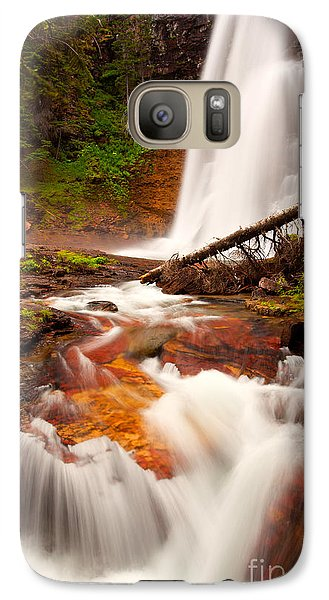 Galaxy Case featuring the photograph Virginia Cascades by Aaron Whittemore