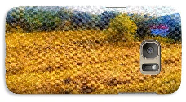 Galaxy Case featuring the painting Virginia Fields by Arthaven Studios