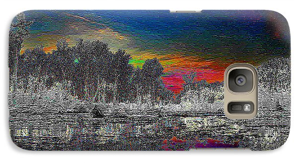 Galaxy Case featuring the photograph Virginia Landscape Art #1  by Digital Art Cafe