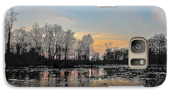 Galaxy Case featuring the photograph Virginia Landscape Art #1b by Digital Art Cafe
