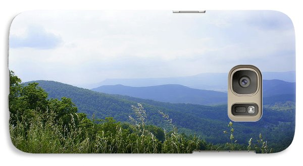Galaxy Case featuring the photograph Virginia Mountains by Laurie Perry