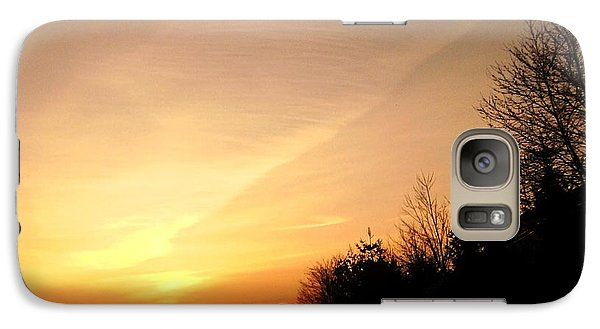 Galaxy Case featuring the photograph Virginia Sunset by Carlee Ojeda