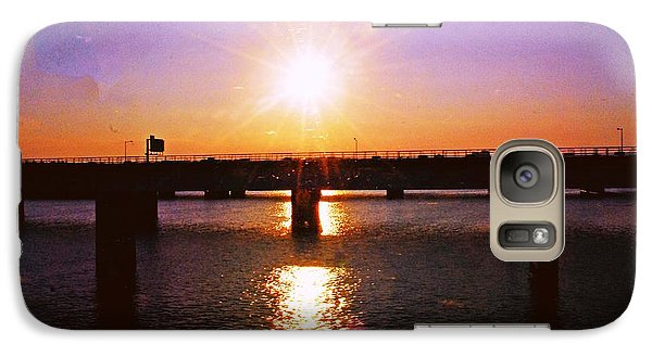 Galaxy Case featuring the photograph Virginia Sunset by Gary Wonning