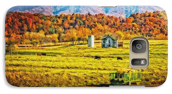 Galaxy Case featuring the photograph Virginia Valley by Mary Timman