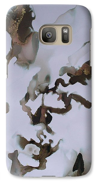 Galaxy Case featuring the painting Vision Quest by Mary Sullivan