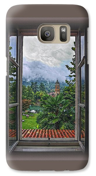 Galaxy Case featuring the photograph Vision Through The Window by Hanny Heim
