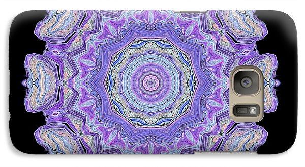 Galaxy Case featuring the digital art Vision Wheel by Aliceann Carlton