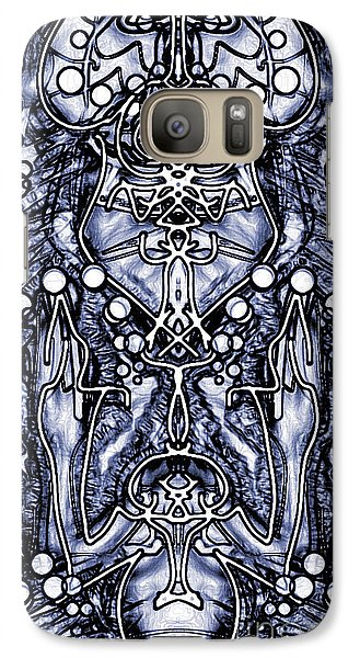 Galaxy Case featuring the photograph Visionary 7 by Devin  Cogger