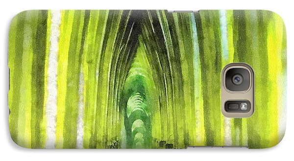Mo Galaxy S7 Case - Visiting Emerald City by Mo T
