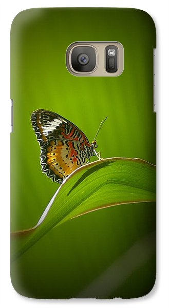 Galaxy Case featuring the photograph Visitor by Randy Pollard