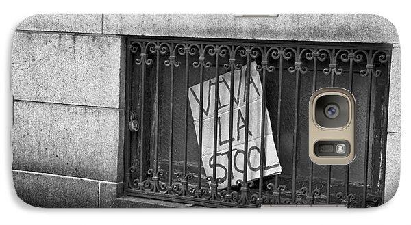 Galaxy Case featuring the photograph Viva La Stool by John Hoey