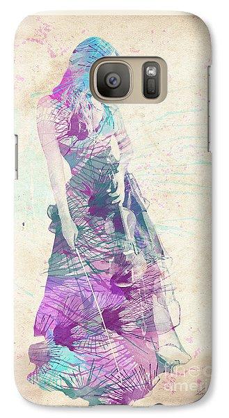 Viva La Vida Galaxy S7 Case by Linda Lees