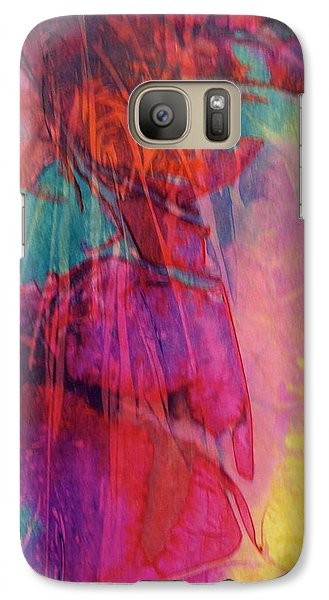 Galaxy Case featuring the painting Vivace by Mary Sullivan