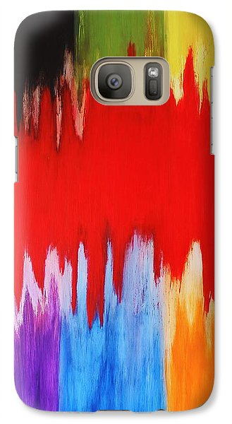 Galaxy Case featuring the painting Voice by Michael Cross