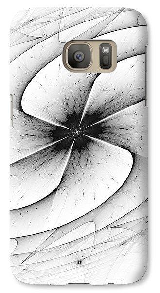 Galaxy Case featuring the digital art Vortex by Arlene Sundby