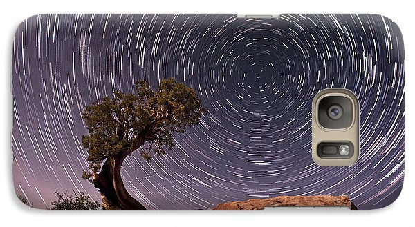 Vortex Galaxy S7 Case by Melany Sarafis